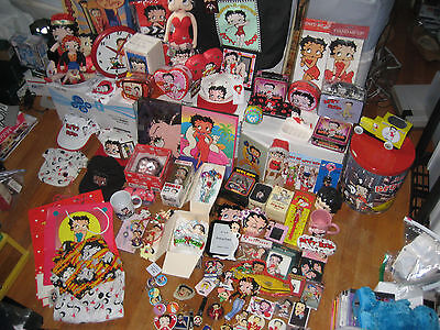 Betty Boop MASSIVE Personal Collection -- 1990s --  109 TOTAL PIECES