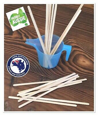 "~CANDLE/MELT/SOAP MAKING~""STIR STICKS"" for mixing liquids~FREE POST"