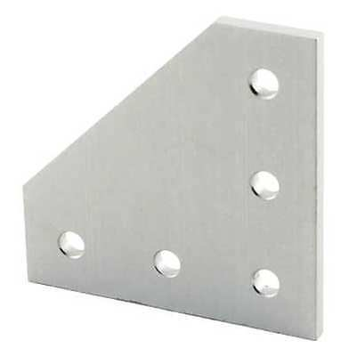 5 Hole 90 Degree Joining Plate, 80/20, 45-4351