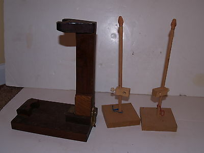 Home Made Archery Making Equipment Jigs - estate find