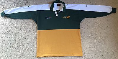 Australian Rugby Union World Cup 2003 Corporate Jersey Mens Size XL Canterbury
