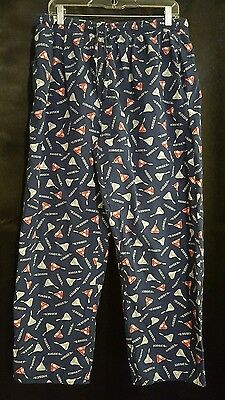 Unisex Hershey's KIsses Print Cotton Sleep/Lounge Pants L (36-40)