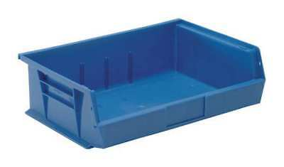 """Blue Hang and Stack Bin, 10-7/8""""L x 16-1/2""""W QUANTUM STORAGE SYSTEMS QUS245BL"""