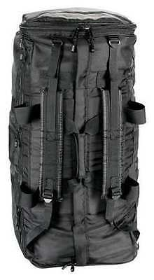 Gear Bag with Straps, 1680D x 1680D Side-Armor, Black, Uncle Mike's, 53492