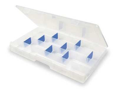 "Flambeau Adjustable Compartment Box, 16-1/2"" W x 9"" L x 1-1/2"" H, 6004R"