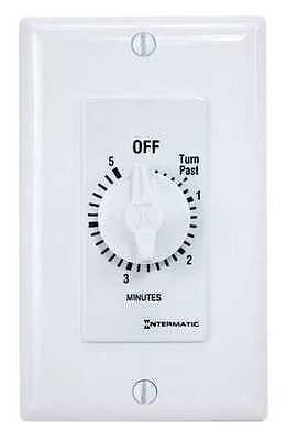 INTERMATIC FD5MW Timer,Spring Wound,5 Min