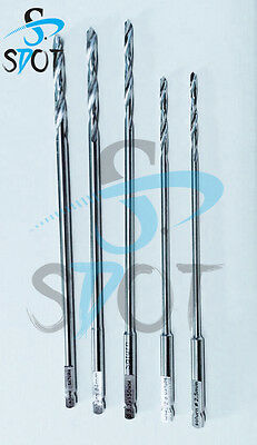 Drill Bits Medical Surgical Orthopaedic Stainless Steel  SDOT