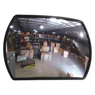 Indoor Convex Mirror,12x18,Rectangular ZORO SELECT RTH-12X18