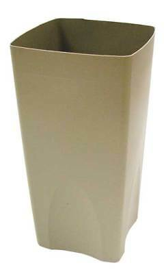 19 gal. Tan Plastic Rigid Trash Can Liner RUBBERMAID FG356300BEIG