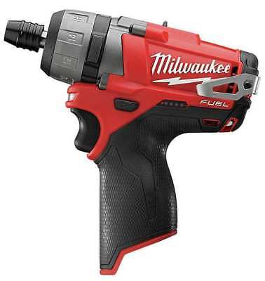 M12 Fuel Cordless Screwdriver, 12V, 1/4 In. MILWAUKEE 2402-20