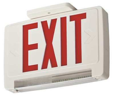 Exit Sign with Emergency Lights, Acuity Lithonia, ECBR LED M6