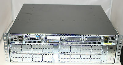 CISCO 3800 Series Model 3845 Integrated Services Router w/Racks WIC 1T