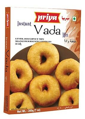 Priya Vada Instant Mix 200g South Indian Delicacy Breakfast Easy to Prepare