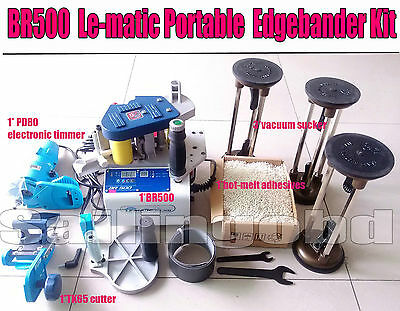 BR500 Le-matic Portable Edge bander machine Contour Straight Woodworking Kit
