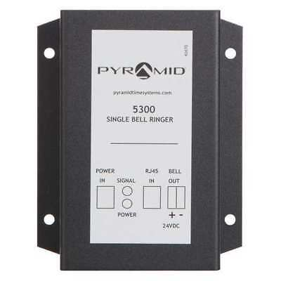 PYRAMID 5300 Bell Ringer Relay, Wall Mount, Rect, 24VDC