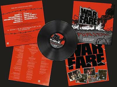 Warfare - Pure Filth: From The Vaults Of Rabid Metal LP #96798