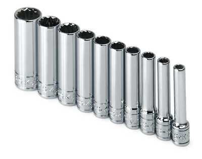 SK PROFESSIONAL TOOLS 4950 Socket Set,SAE,1/4 in. Dr,10 pc G4433956