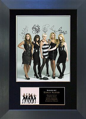 GIRLS ALOUD Signed Mounted Autograph Photo Prints A4 189