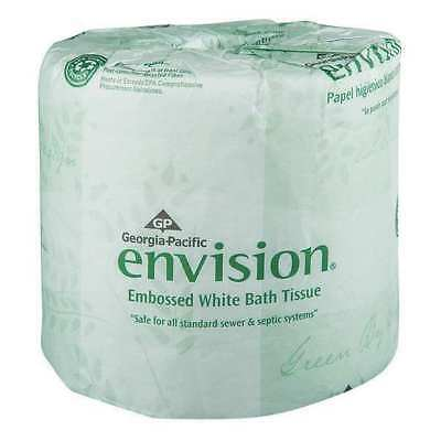 Envision Toilet Paper, 1Ply,PK80 GEORGIA-PACIFIC 19881/01