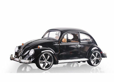Beetle Superior 1967 1:18 Black Diecast Car Model Toy Christmas Gift