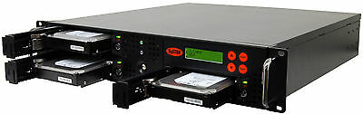 1-2 SATA Rackmount Disco Rigido (HDD/SSD) Duplicatore Sanitizer Copista Cloner