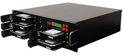 4 SATA Rackmount Disco Rigido (HDD/SSD) Sanitizer Copista Cloner Sanitizer