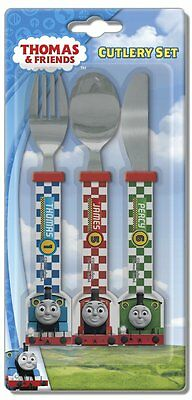 "Spearmark Thomas ""Racing"" Friends Childrens 3 Piece Cutlery Set Age 3 +"