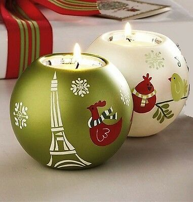 Tag  Holiday Ornament Tea Light Candle Holders