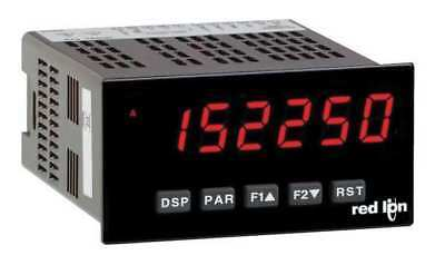 RED LION PAXI0020 Counter Ratemeter, 6 Digits, 2 Preset, LED