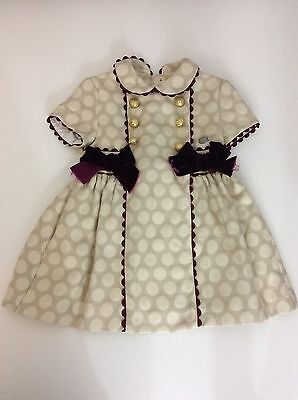 DOLCE PETIT dress 24M Months / Age 2 Years Beige