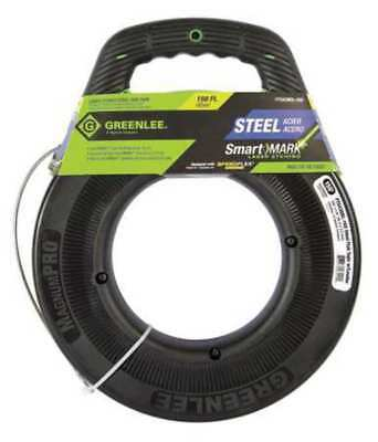 GREENLEE FTS438DL-150 Fish Tape,1/8 In x 150 ft,Steel