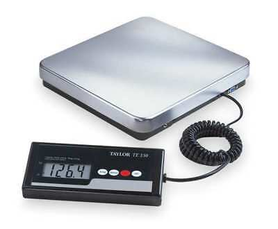 TAYLOR TE150 Digital Shipping & Rcvng Scale,SS Pltfrm