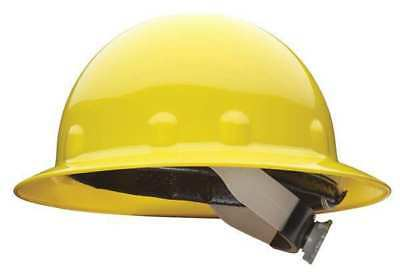 FIBRE-METAL BY HONEYWELL E1RW02A000 Hard Hat,Full Brim,E/G/C,Ratchet,Yellow