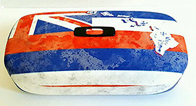 "LIMITED EDITION Oakley Hawaii/Hawaiian Flag ""Square O"" Hard Case NEW!"