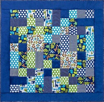 Kozy Cuts One of the Boys Cuddle Quilt Kit, 52 in x 52 in from Shannon Fabrics