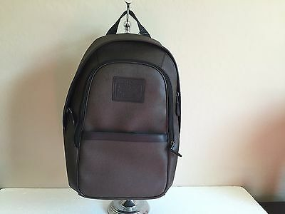 b93322a4d8335 NWT COACH Heritage Backpack Men s Printed Coated Canvas Espresso F71995   375.00