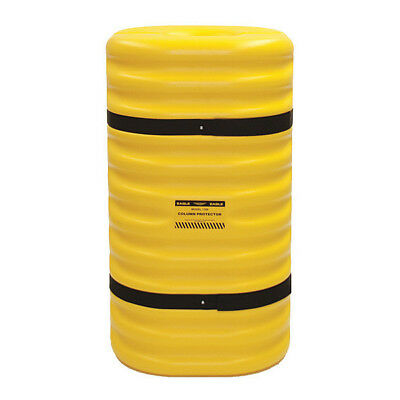 5PW13 Column Protector, For 10 In Column, Yellow