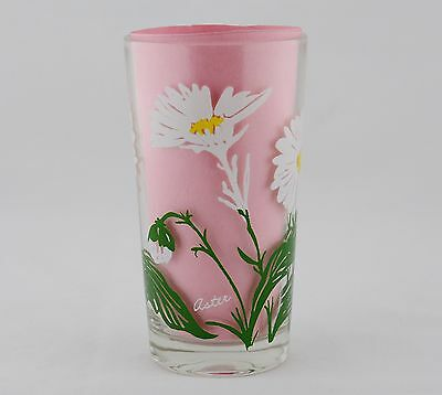 """Boscul Peanut Butter Glass White Aster White Letters (5"""" Tall)"""