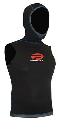 Pinnacle 1.5mm Shadow Hooded Dive Vest CLEAR OUT OFFER