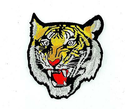 Patch ecusson brode thermocollant backpack motard biker tigre