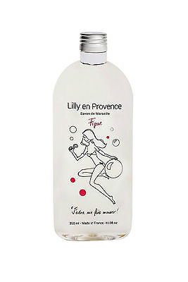 Savon de Marseille liquide Gel douche à la Figue Lilly en Provence 350 ml