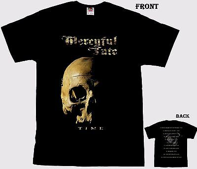 MERCYFUL FATE -Time- Danish heavy metal band,T_shirt- sizes: S to 6XL