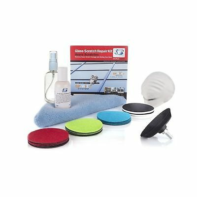 Glass Scratch Repair Kit GP-WIZ System, Removes Scratches, Surface Marks, Water