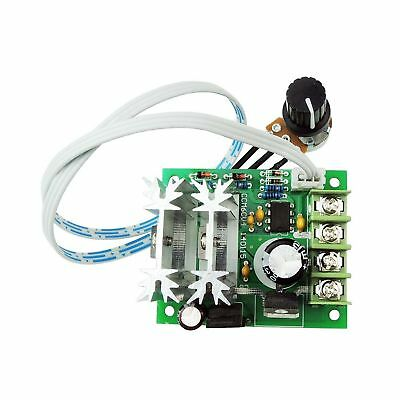 uniquegoods 6V 12V 24V DC 10A PWM DC Motor Speed Controller Adjustable Variable