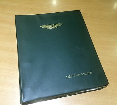 ASTON MARTIN DB7i6 PARTS CATALOGUE 1994-1997 GENUINE - 43-81156.