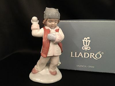 """LLadro """"I'll Get You"""" (8166 Christmas) Mint in Box VERY ADORABLE"""