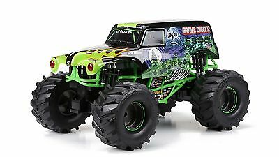 New Bright Grave Digger Remote Control Car Monster Jam World Finals- 1:10 Scale