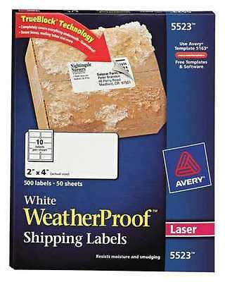Laser Label, White ,Avery, 5520