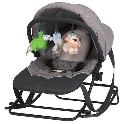 NEW Steelcraft Baby Bouncer Rocker Moonshadow #`39814