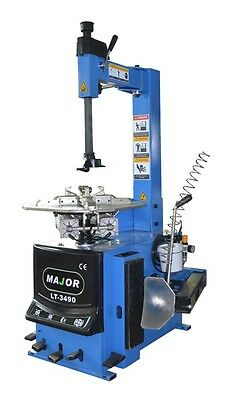 "Motorcycle/ATV/Car Tire Changer, Moto Tire Machine, 6-22"" Rim Clamping Capacity"